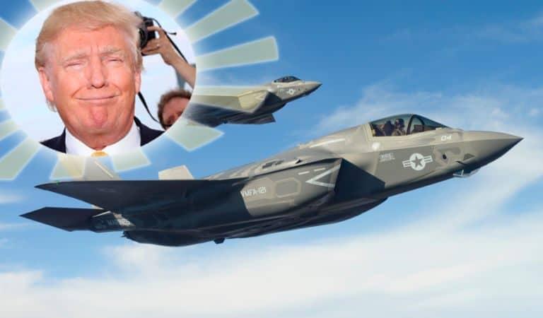 Trump Boasts Saving $600 Million In F-35 Deal Through His Negotiation Skills