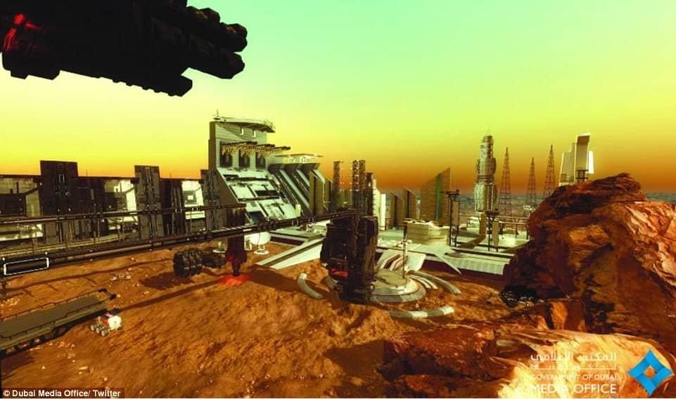 UAE to Mars