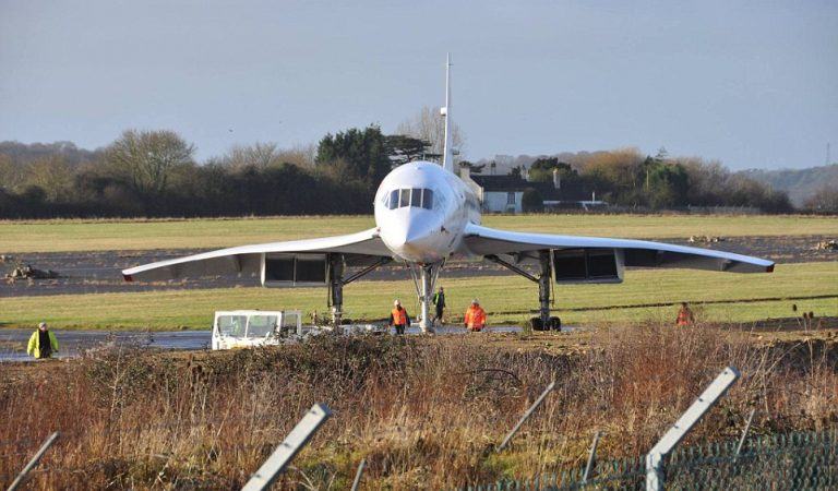 The Iconic Supersonic Concorde Has Made Its Final Journey