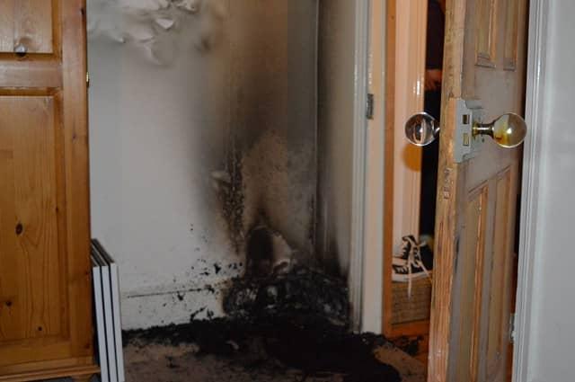 door knob fire