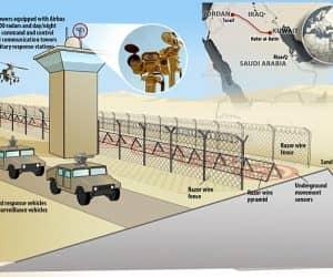 saudia wall iraq border21