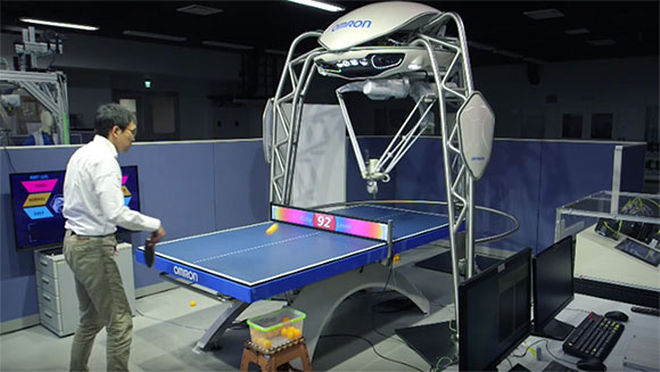 table tennis robot (2)