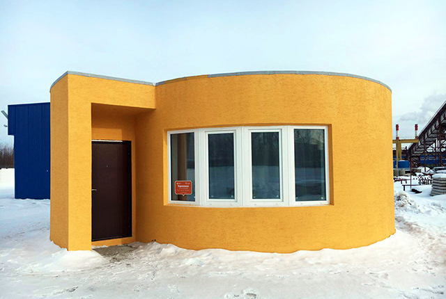 This Tiny House Was Printed In 24 Hours With A Portable 3D Printer