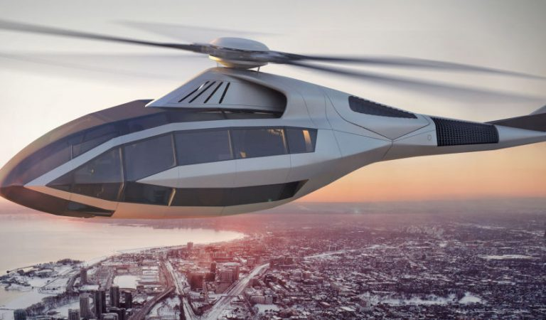 Bell Helicopter Introduces The FCX 001 – A Futuristic Concept Helicopter