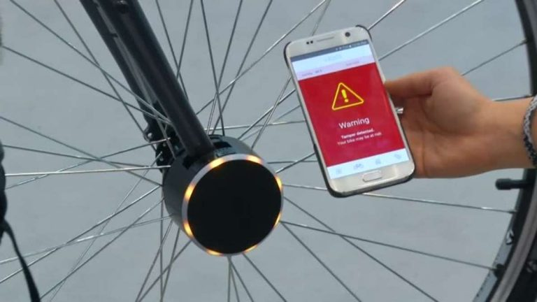 Bisecu Bicycle Bluetooth lock (1)