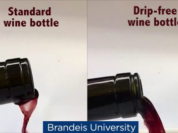 Drip free bottle