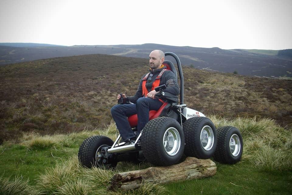 HexHog Wheelchair