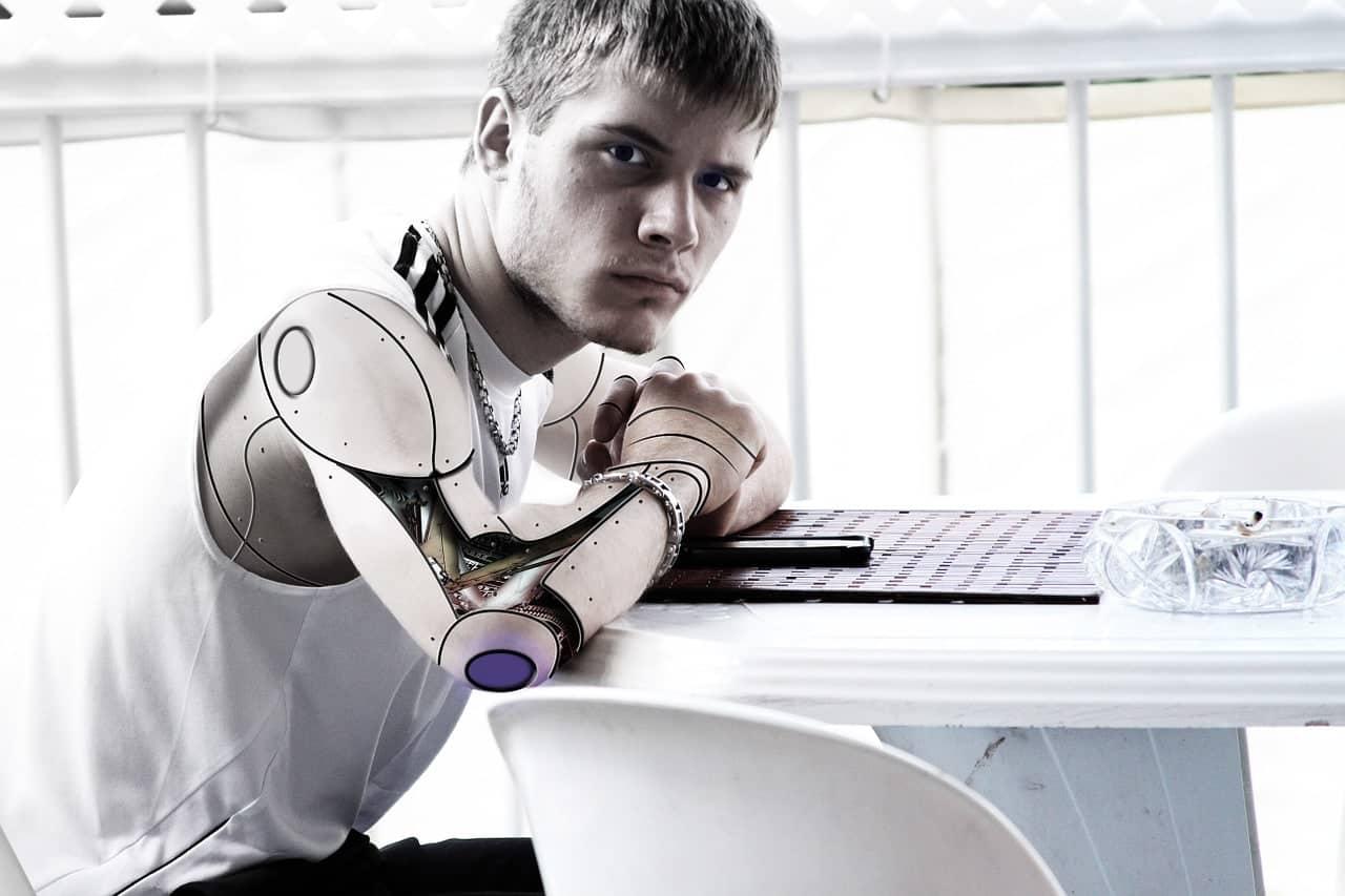 Human Skin on Robots