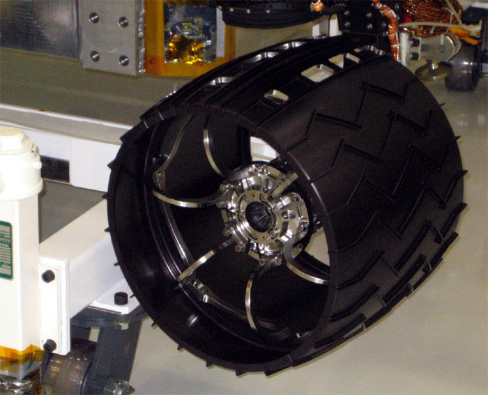 NASA's Curiosity Rover's Wheels Begin To Break Down