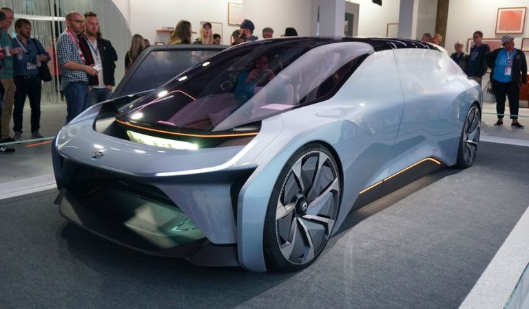 This New Chinese Electric Autonomous Concept Car Is A Luxury Room On Wheels