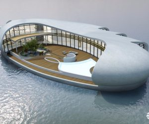 New Living on Water - Floating House (2)