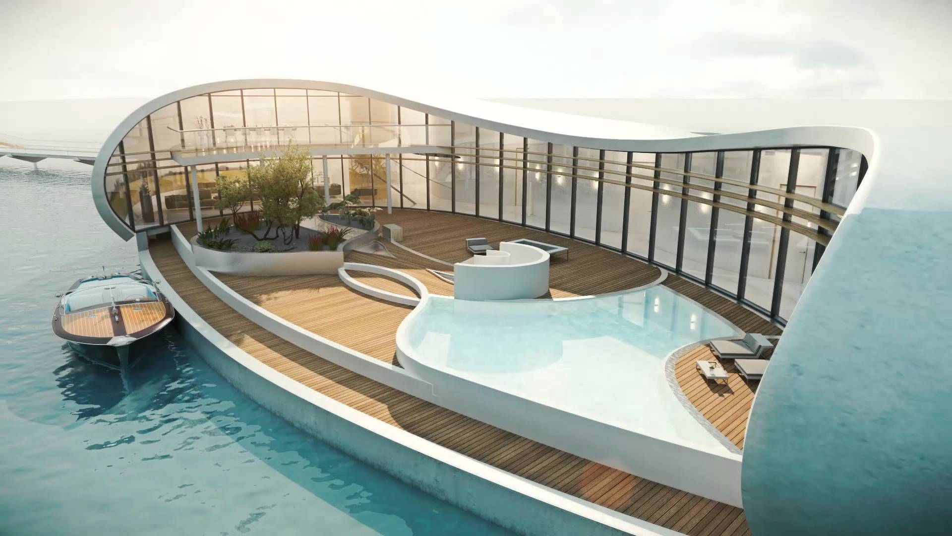 Now you can get your own floating house in dubai - The floating homes of dubai luxury redefined ...