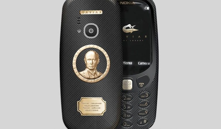 Now You Can Buy This Putin-Themed Nokia 3310 Model