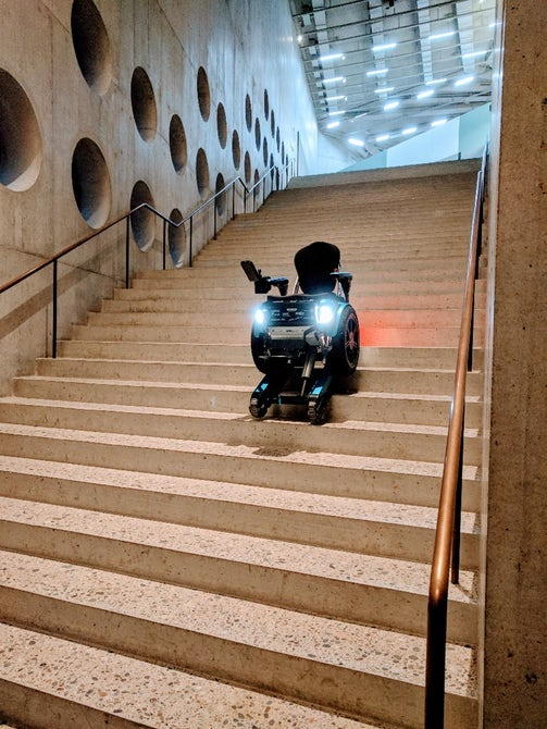 New Wheel Chair By Scewo Can Climb Stairs With Ease