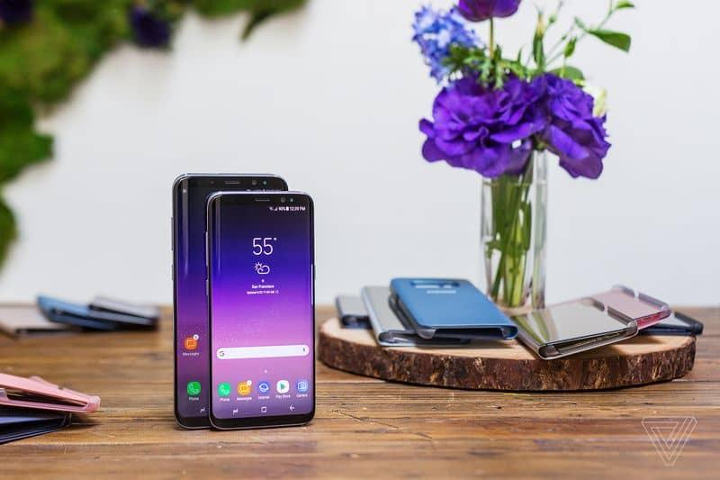 Samsung S8 pics