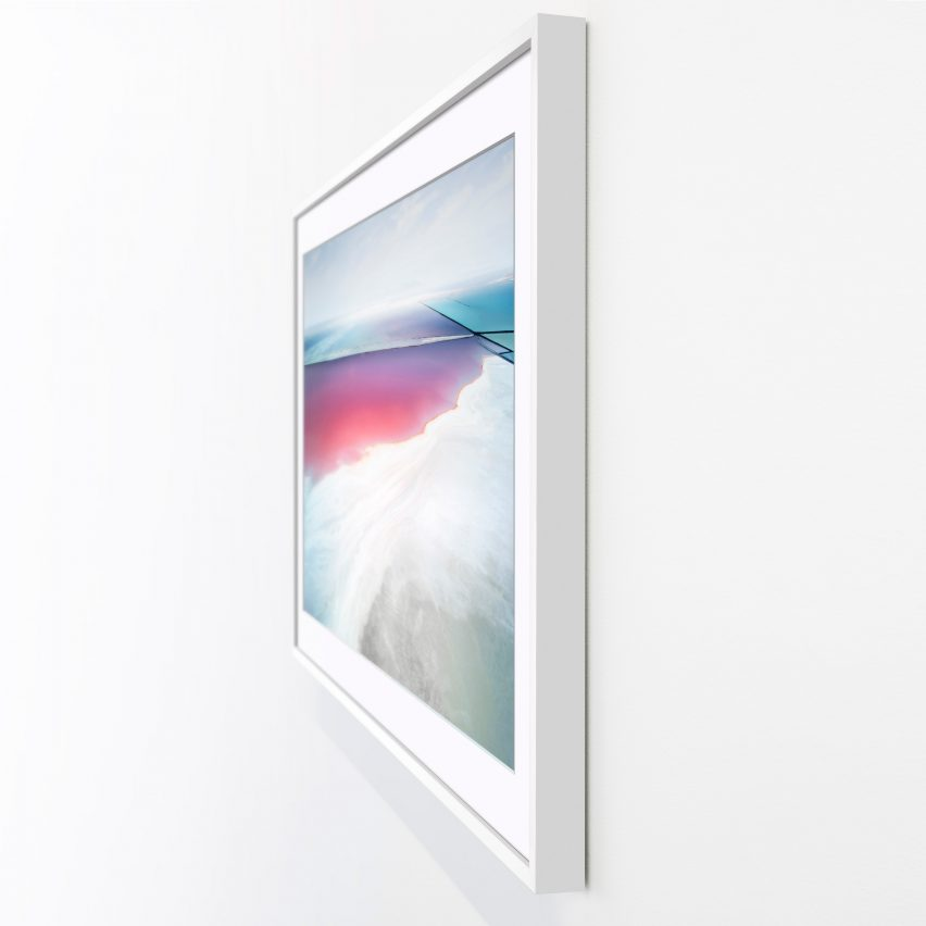 New Samsung TV 'The Frame' Doubles As A Wooden Picture Frame