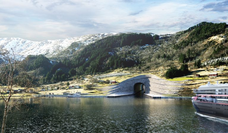 World's First Ship Tunnel Set To Be Built In Norway