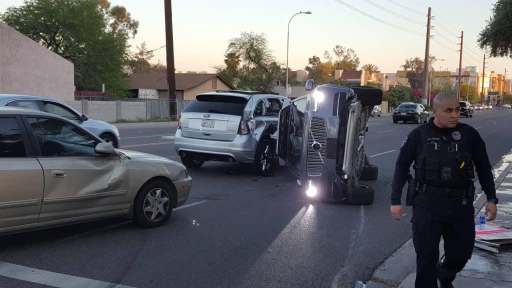 Uber self driving car accident Arizona (1)