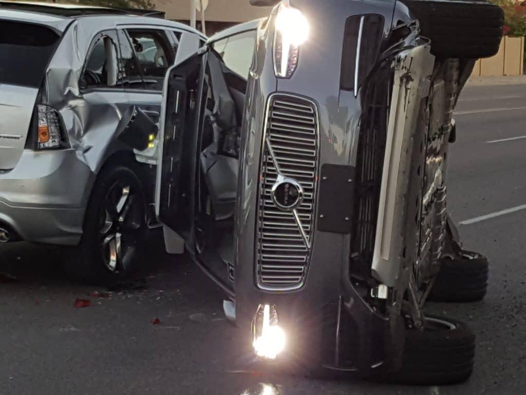 Uber self driving car accident Arizona (2)