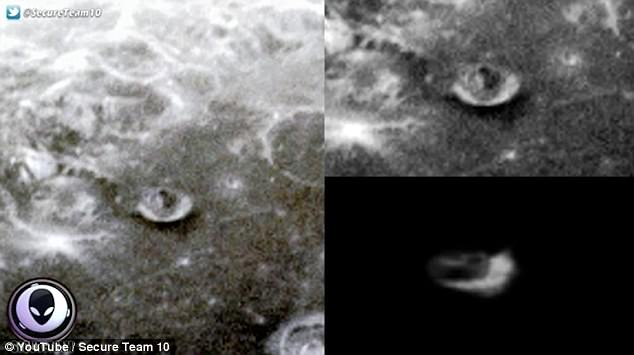 Conspiracy Theorists Claim To See 'Unnatural Structures' On The Moon That NASA Is Hiding