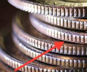 coin ridges