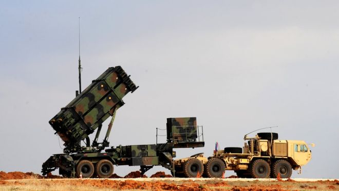 patriot missile drone