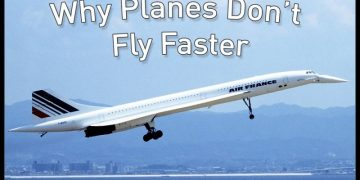 why planes don't fly fast