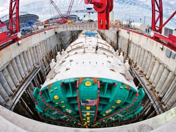 Bertha Worlds Largest Tunnel Boring Machine (5)