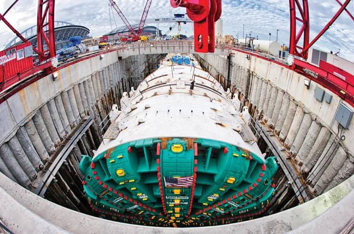 Bertha Worlds Largest Tunnel Boring Machine (5)