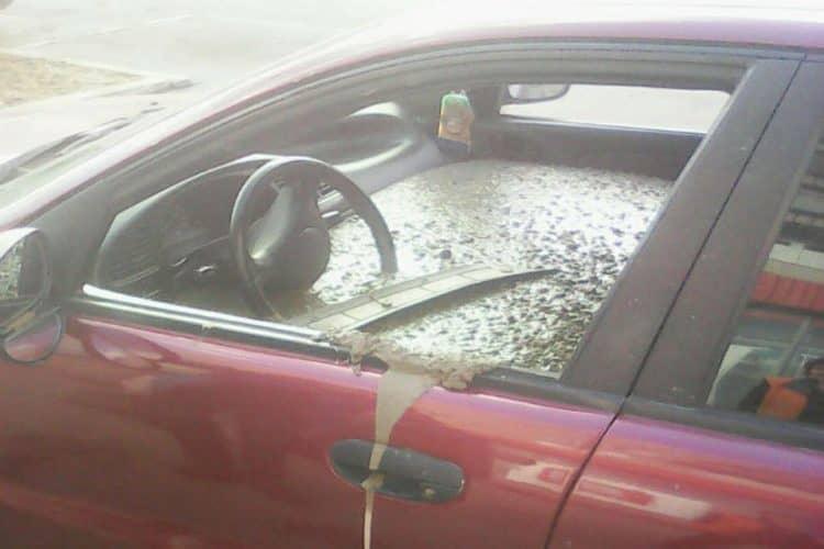 Concrete Filled Car (4)