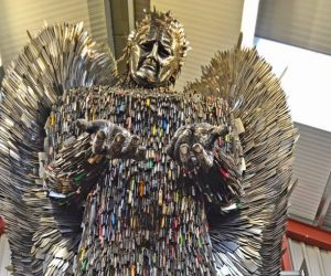 Knife Angel Sculpture (1)