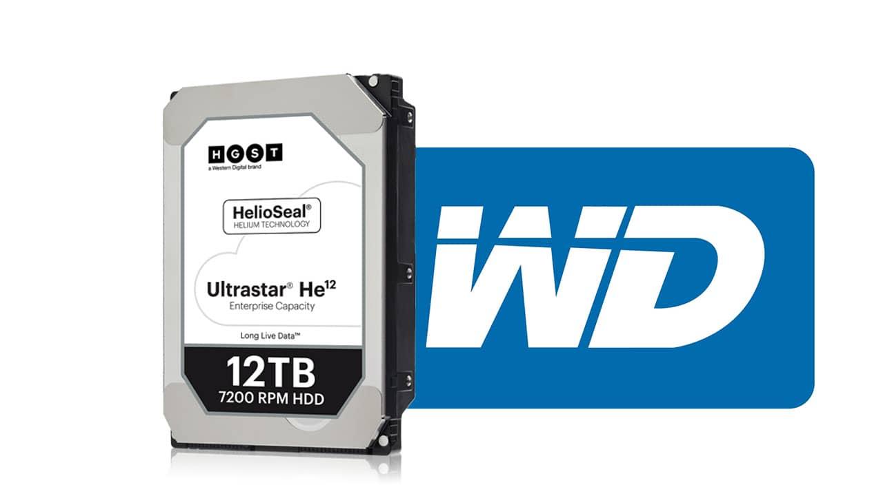 WD 12TB hard disk