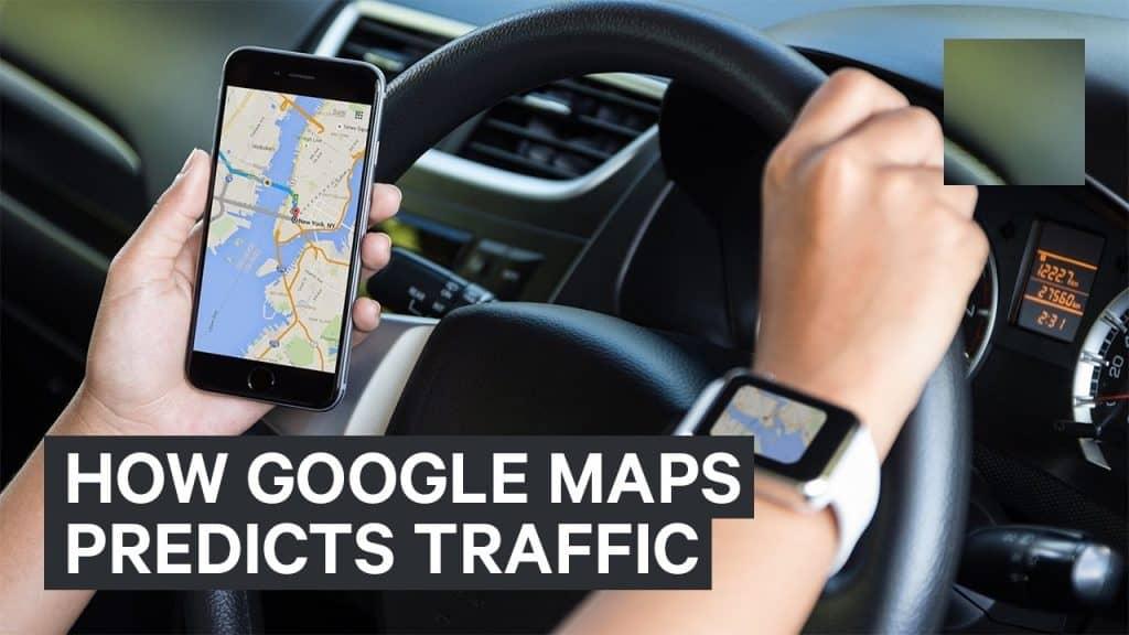 google maps traffic prediction