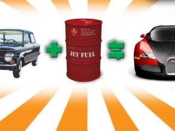 jet fuel car 1