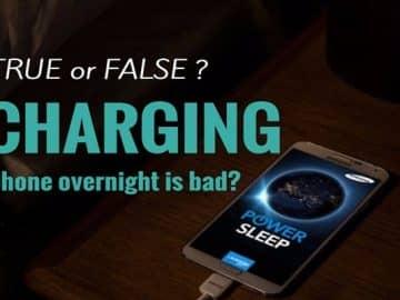 overcharging overnight