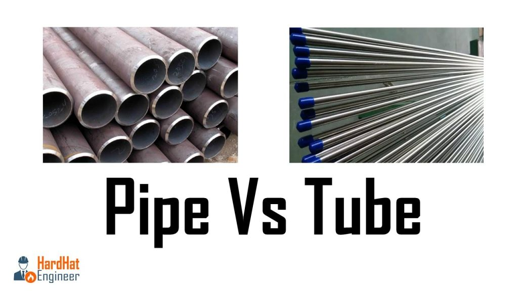 pipe vs tube