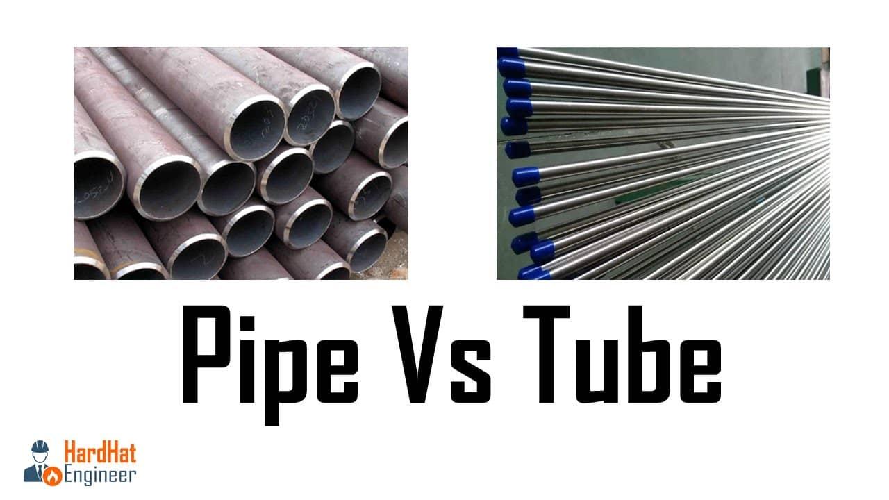 pipe vs tube