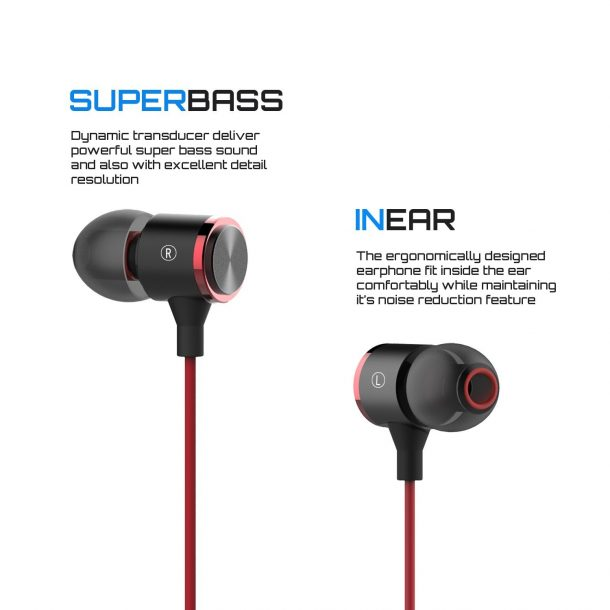 E181 Premium Earbuds Stereo Headphones and Noise Isolating