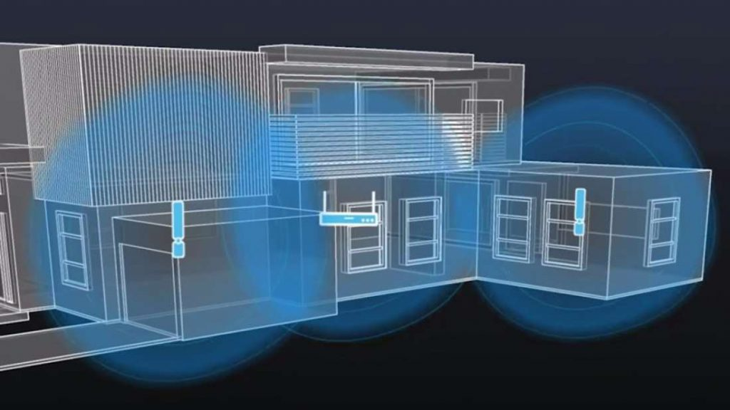3D holograms using WIFI544