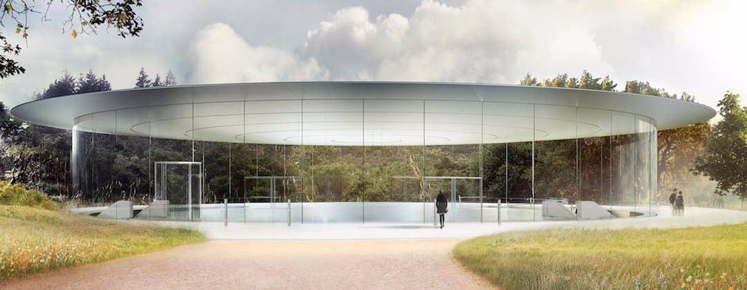 Apple Park Steve Jobs Theater 3