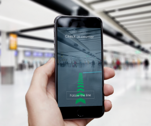 Augmented Reality Airport Navigation
