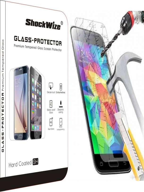ShockWize J3 Prime Screen Protectors