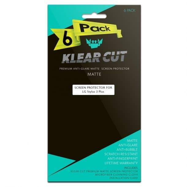 Klear Cut LG Stylo 3 Plus Screen Protector