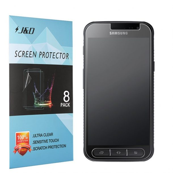 10 best screen protectors for samsung galaxy xcover 4. Black Bedroom Furniture Sets. Home Design Ideas