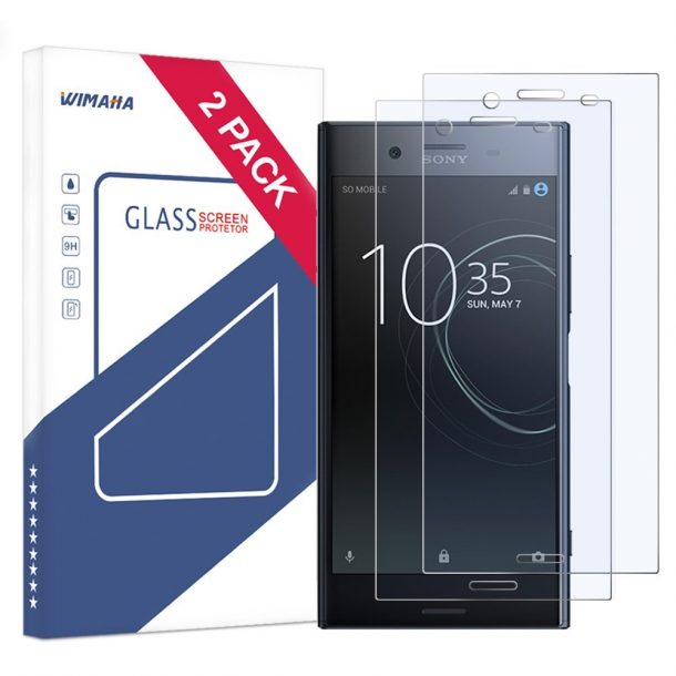 Bear Village Screen Protector for Sony Xperia XZ 9H Hardness Screen Protector Glass for Sony Xperia XZ 99.99/% Clarity Tempered Glass Screen Protector 2 Pack
