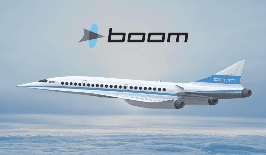 Boom Supersonic passenger aircraft