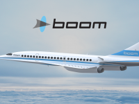 Boom Supersonic passenger aircraft