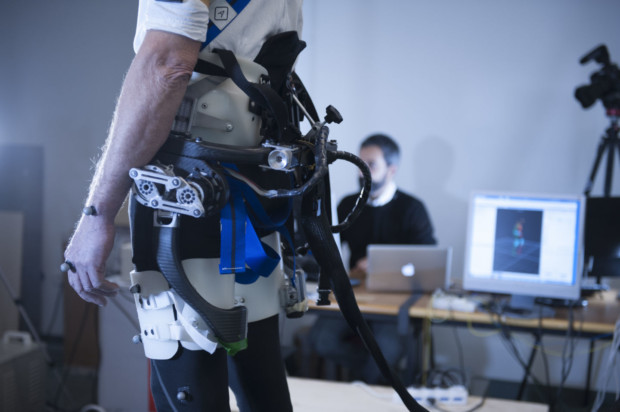 This Smart Exoskeleton Can Detect If You Are About To Fall And Save You