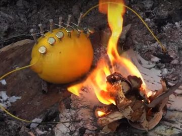 How-to-make-fire-from-lemon-DIY