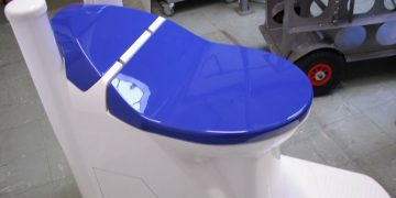 Nano membrane waterless toilet